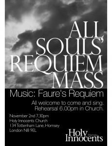All Souls Requiem Mass image