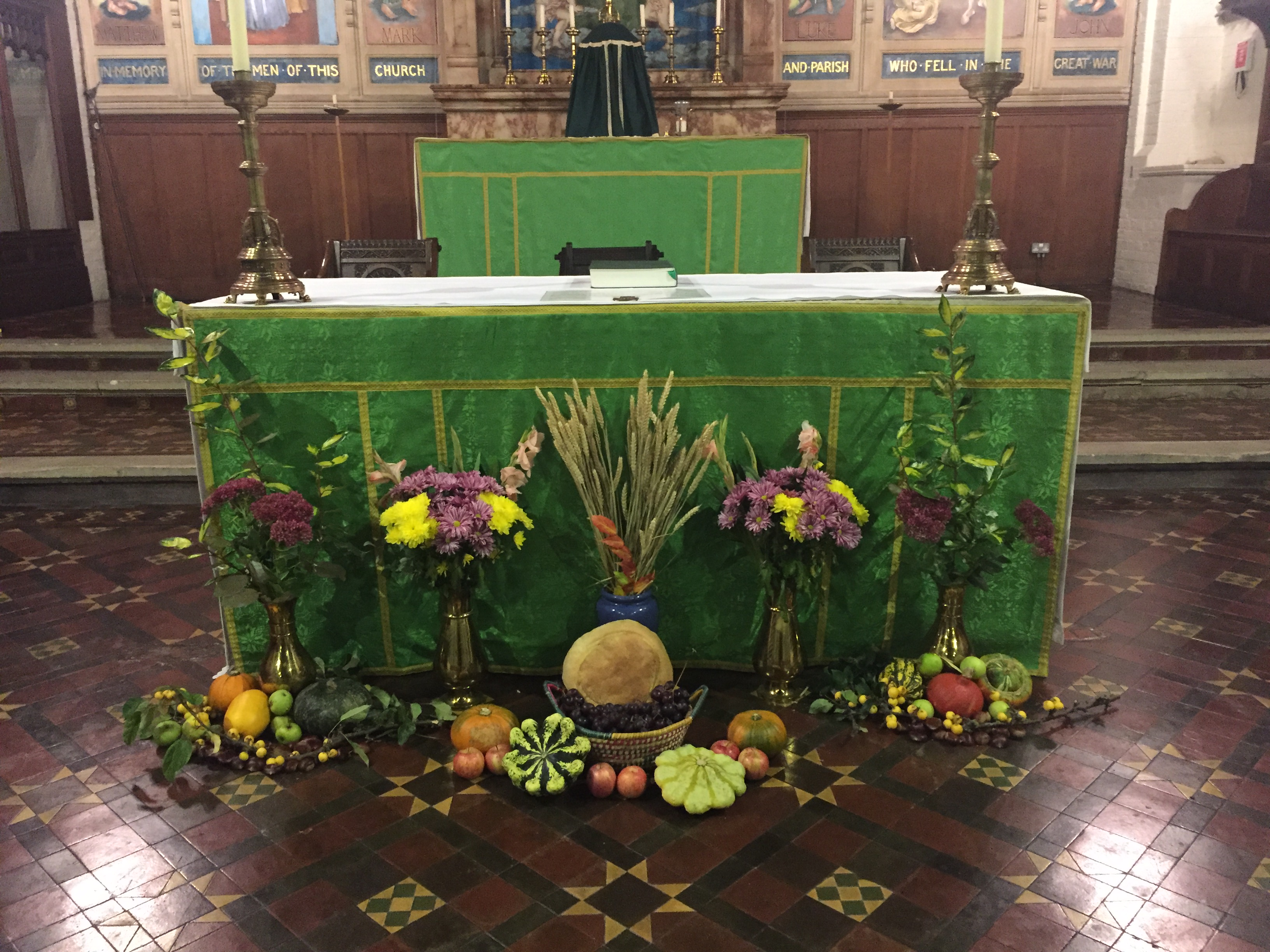 No Charge But Donations Welcome Harvest Festival